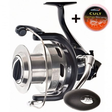 Tica Cybernetic GGAT10000 + 280m Spule Climax Cult Catfish Strong 0,60mm Braun